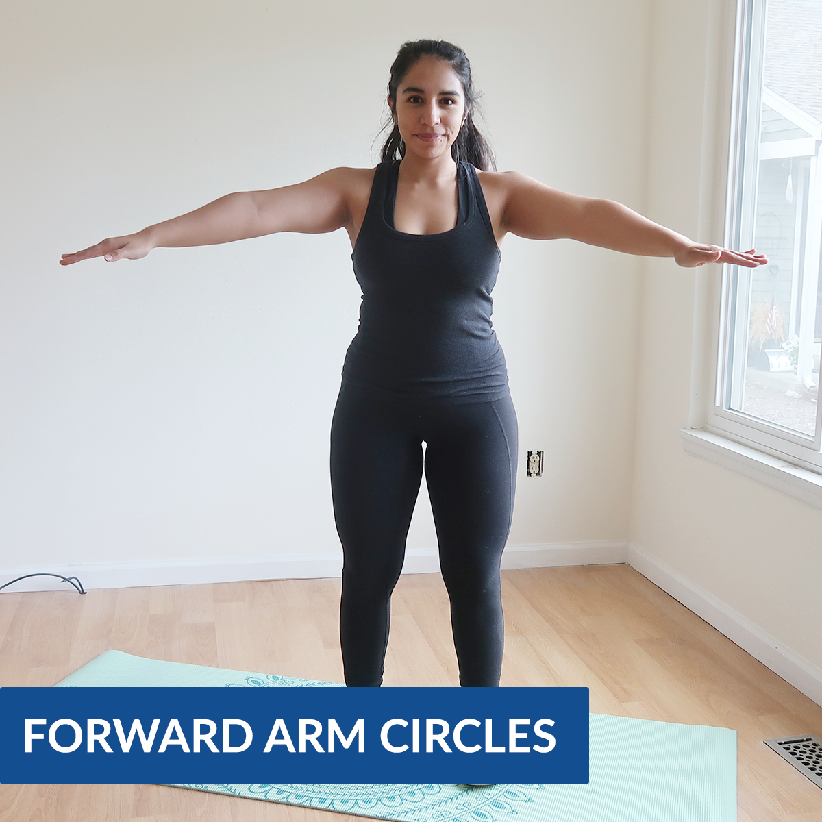 arm circle exercises