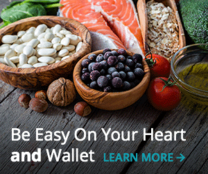 heart healthy diet on a budget