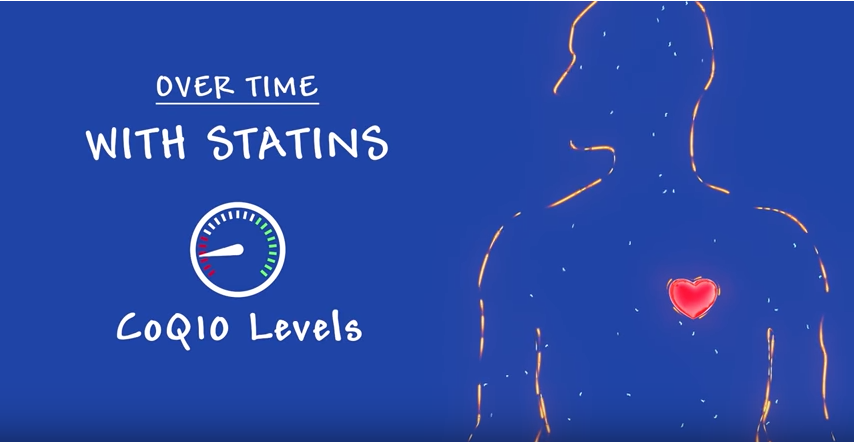 Cholesterol Medicine (Statins) Impact on CoQ10 Levels