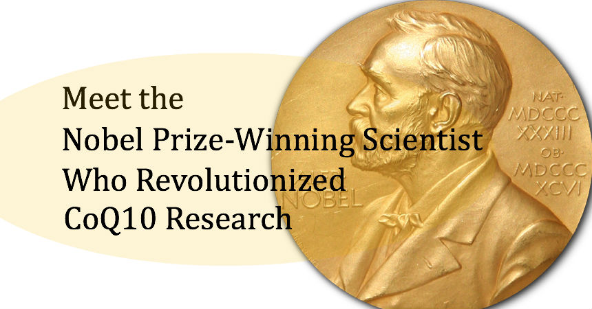 Meet the Nobel Prize-Winning Scientist Who Revolutionized CoQ10 Research