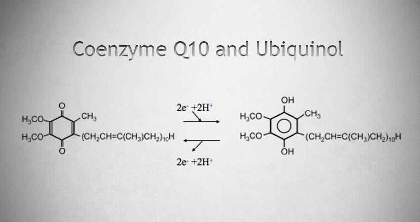 Ubiquinone and Ubiquinol