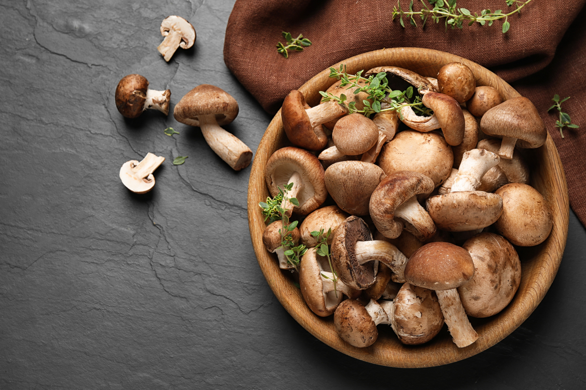 Veggie of the month - Mushrooms