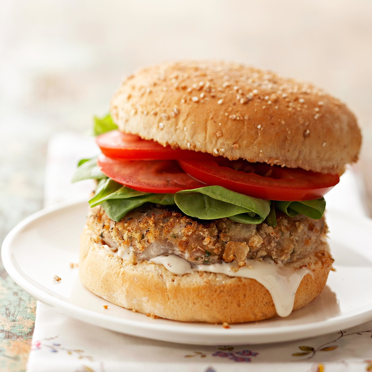 Cannellini Bean Burgers