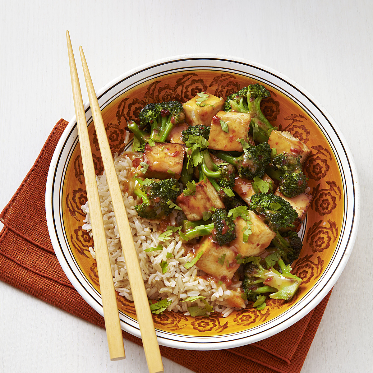 Chipotle-Orange Broccoli & Tofu