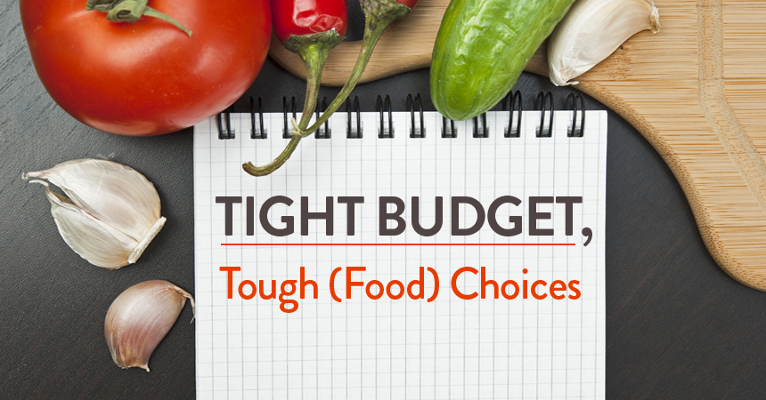 Tight Budget, Tough (Food) Choices